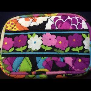 Vera Bradley wristlet / change purse. Zip top